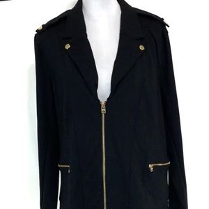 Andrew Marc Jackets & Coats - Marc New York Andrew Marc black moto blazer